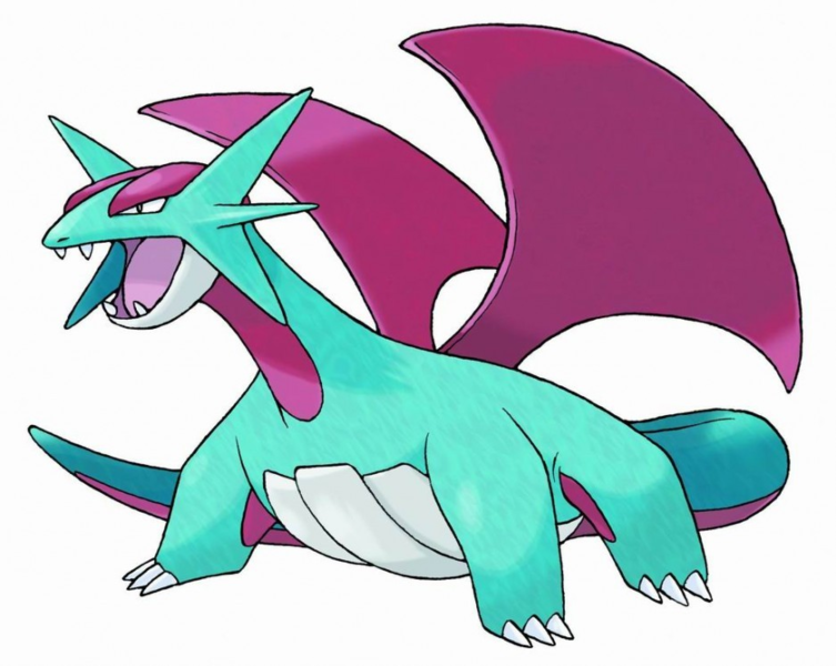 Index Of  Wiki Images Thumb F Fe Salamence Png